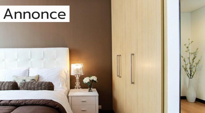 Indret et lækkert og indbydende soveværelse